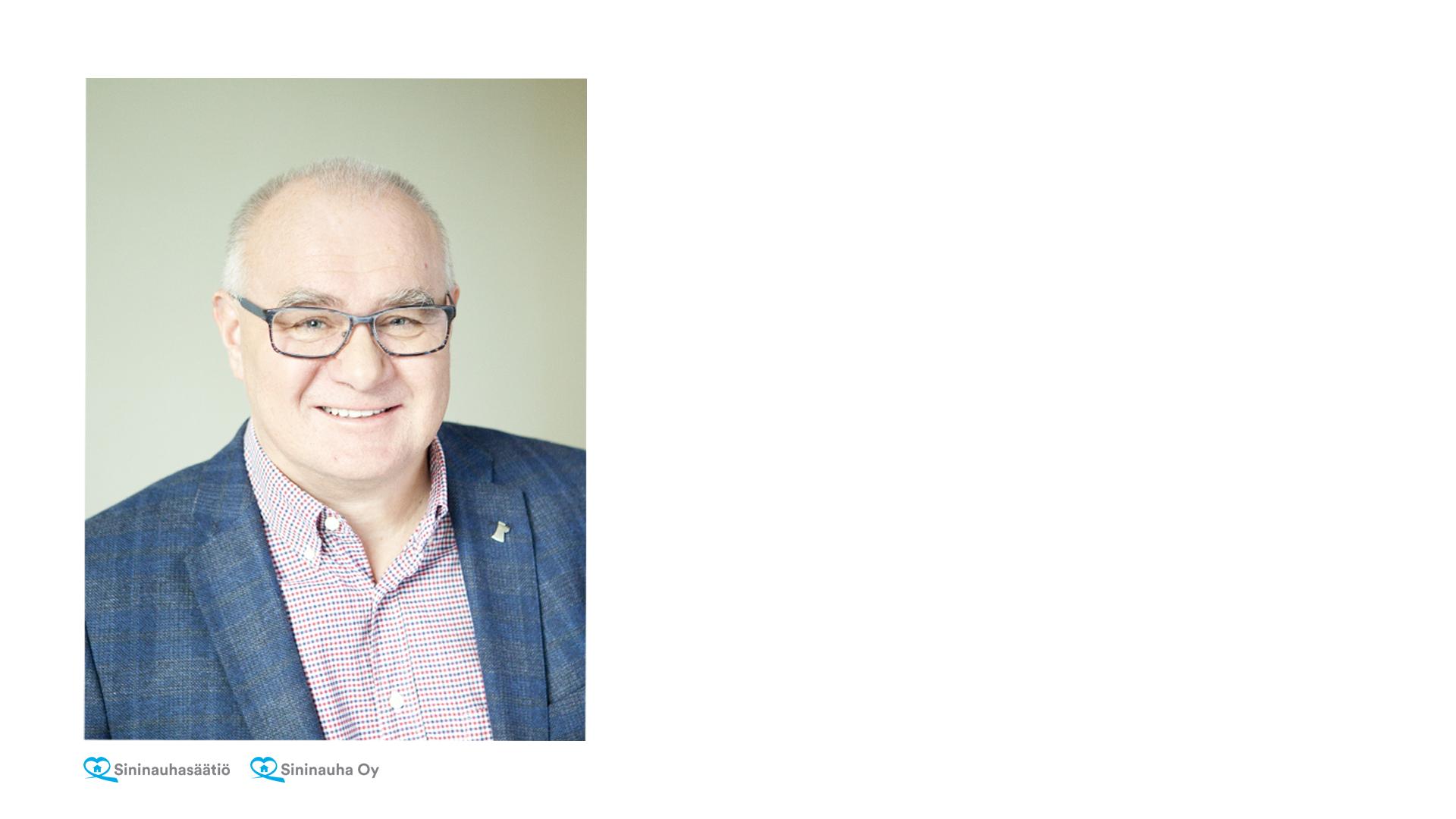 Sininauhasäätiö-konsernin toimitusjohtajaksi on valittu Kimmo Karvonen.