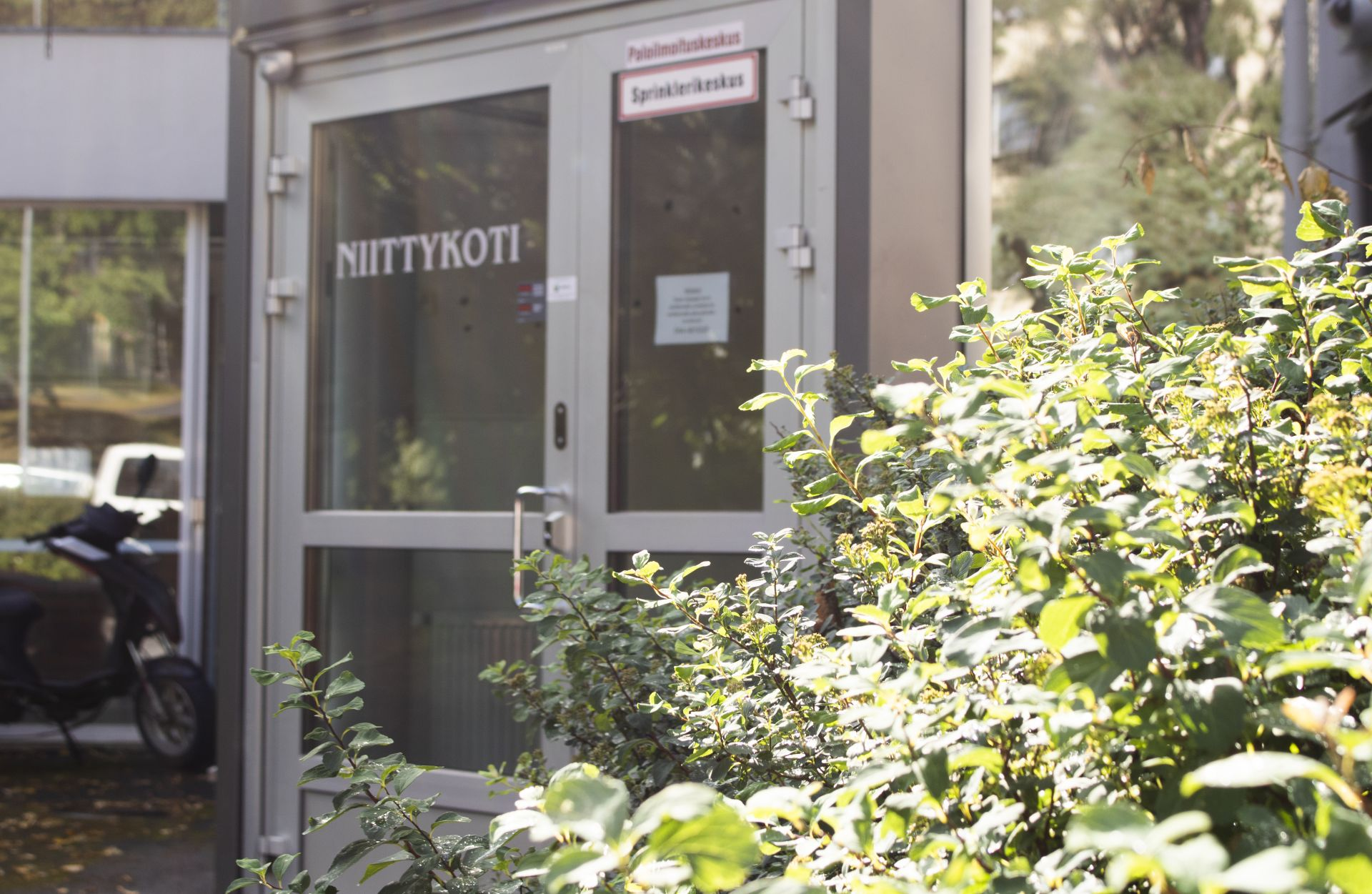 Niittykoti from the outside