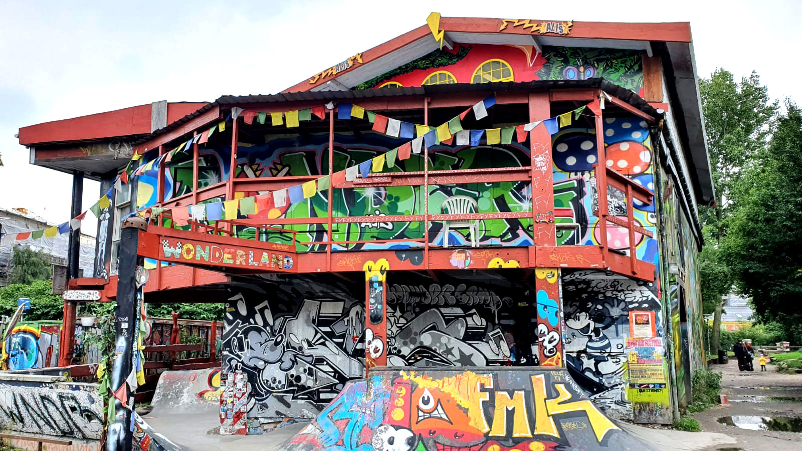 Talo Christianiassa, valokuva.