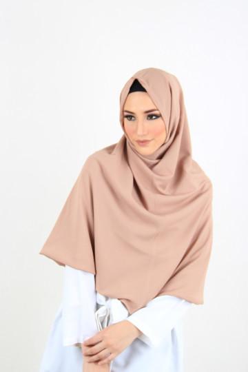Amal Instant Hijab Beige (Long) image