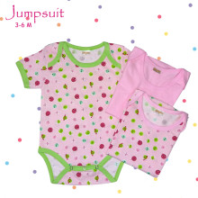 Amaris Jumpsuit Baby Girls - Baju Bayi Lucu 3-6 Bulan - Jumper Set Isi 3