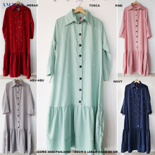 Dress Gamis 3638 - Gamis Murah - Amaris