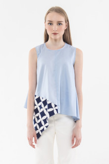 Hava Top - Light Blue