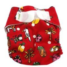 Minoo Cloth Diaper - Jungle
