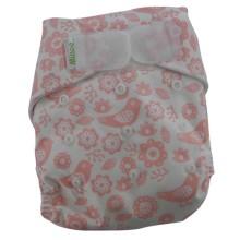 Minoo Cloth Diapers - Flower Pink
