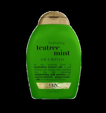 OGX Hydrating Teatree Mint Shampoo (385ml) image
