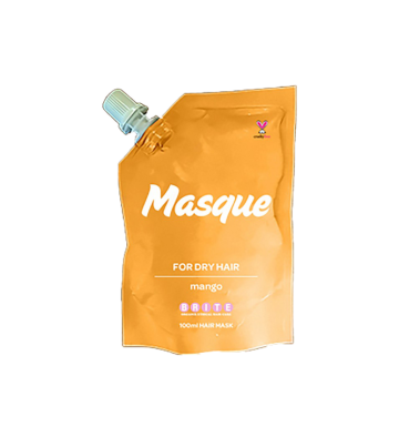BRITE ORGANIX Masque For Dry Hair - Mango (100ml) image