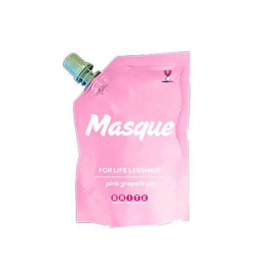 BRITE ORGANIX Masque For Life Less Hair - Pink Grapefruit (100ml) image