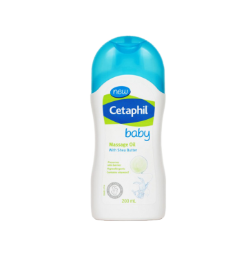 CETAPHIL Baby Massage Oil with Shea Butter (200ml) image
