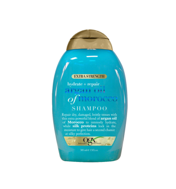 OGX Hydrate + Repair Argan Oil of Morocco Extra Strength Shampoo (385ml) image