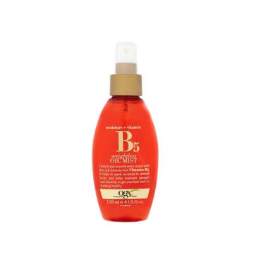 OGX Moisture + Vitamin B5 Weightless Oil Mist (118ml) image