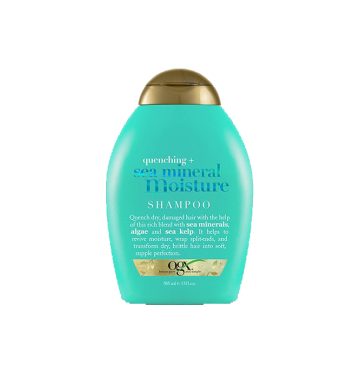 OGX Quenched Sea Mineral Moisture Shampoo (385ml) image