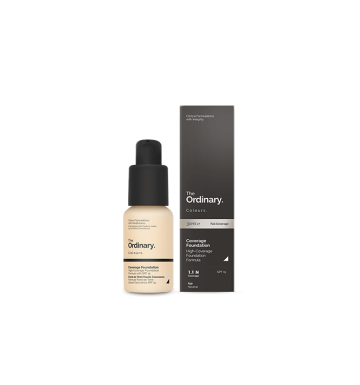 THE ORDINARY Colours Coverage Foundation - 1.1 N (30ml) image