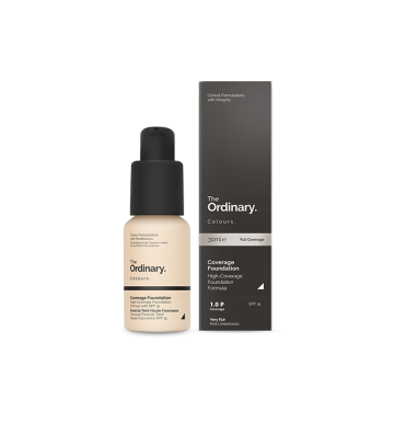 THE ORDINARY Colours Coverage Foundation - 1.0 P (30ml) image