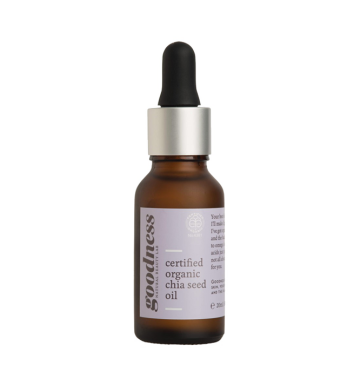 GOODNESS Certified Organic Chia Seed Oil (20ml) image