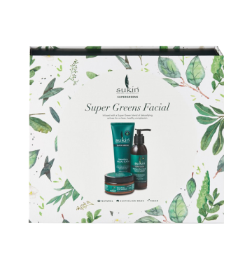 SUKIN Super Greens 3 Step Facial image