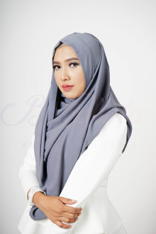 Dark Grey Hijab