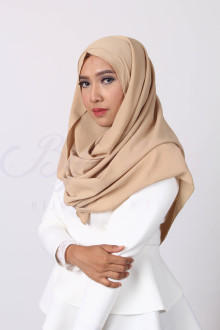 Hazelnut Brown Orchid Hijab
