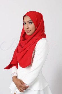 Bright Red Hijab
