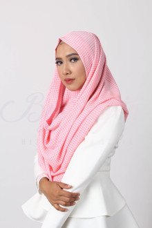 Square Carnation Hijab