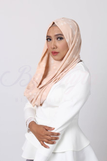Orange Flower Sand Hijab