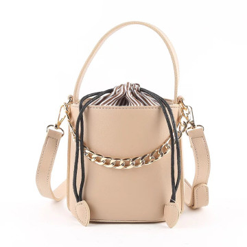 Eden Nude Bucket Bag