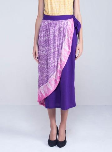 Tumpal Skirt Purple image