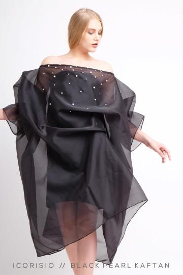 BLACK PEARL KAFTAN DRESS image