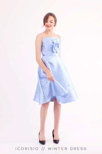 WINTER DRESS / BLUE image