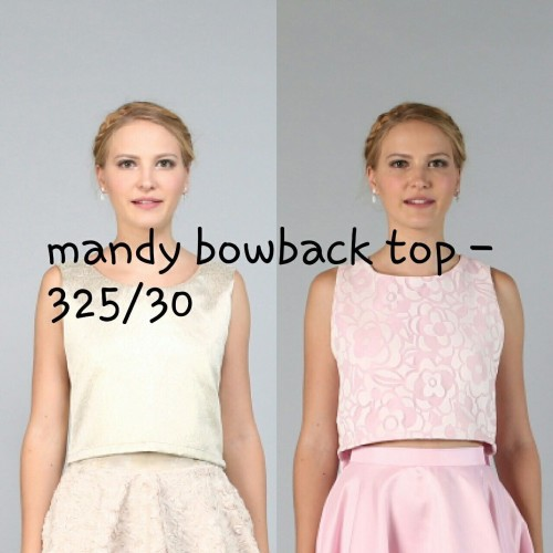 Mandy Bowback Top