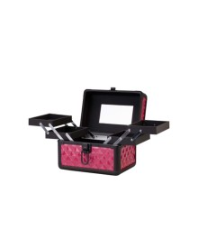 Carry On Makeup Case in Rose Diamond