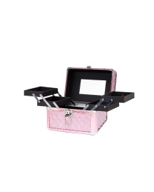 Carry On Makeup Case in Pink Diamond Series
