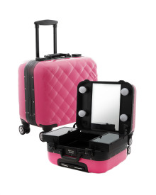 Mini Travelling Makeup Case in Pink Marshmallow