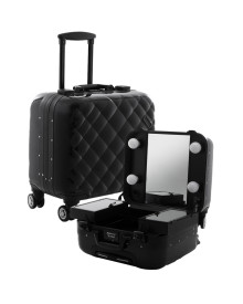 Mini Travelling Makeup Case in Black Marshmallow