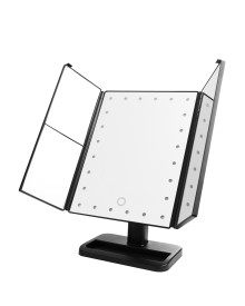 24LED 3Way Foldable Standing Mirror