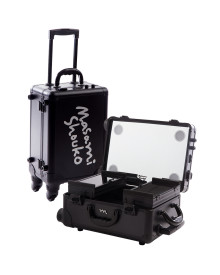 Mini Travelling Makeup Case in Signature Black