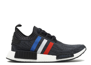 Adidas NMD R1 Primeknit Tricolor 'Black' image