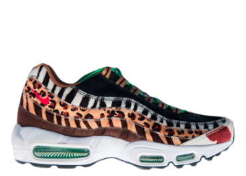 Nike Air Max 95 Atmos Animal Pack 2.0 (2018 All Black Box) image