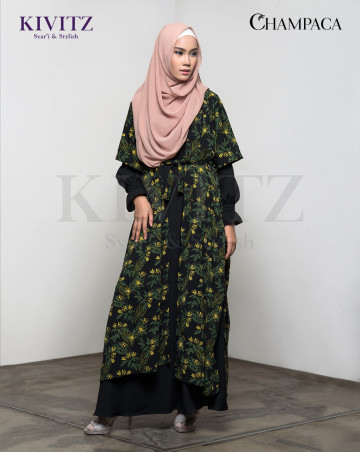 MAMEH OUTER ( Black Pattern) image
