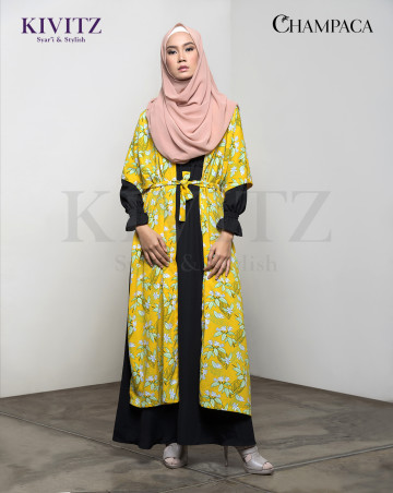 MAMEH OUTER (Yellow Pattern) image