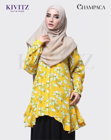 RUCI TOP (Yellow Pattern) image