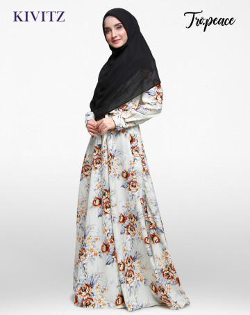 MARESA DRESS (Winter White) image
