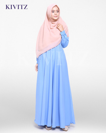 FIZA DRESS (Sky Blue) image