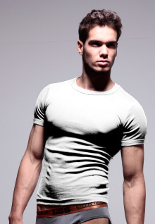 LGS Underwear - White - Round Neck - 1 Pcs