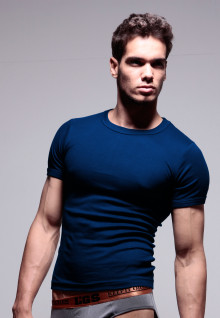 LGS Underwear - Blue Navy - Round Neck - 1 Pcs