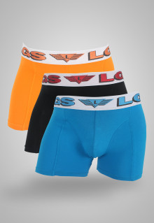 LGS Underwear - Blue/Black/Orange - 3 Pcs