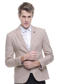 Slim Fit - Formal Suit - Double Vent - Cream