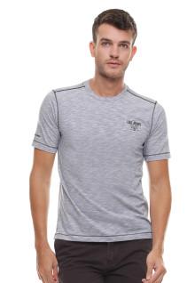 Regular Fit - Kaos Casual - Model Polos - Logo Dada - Abu