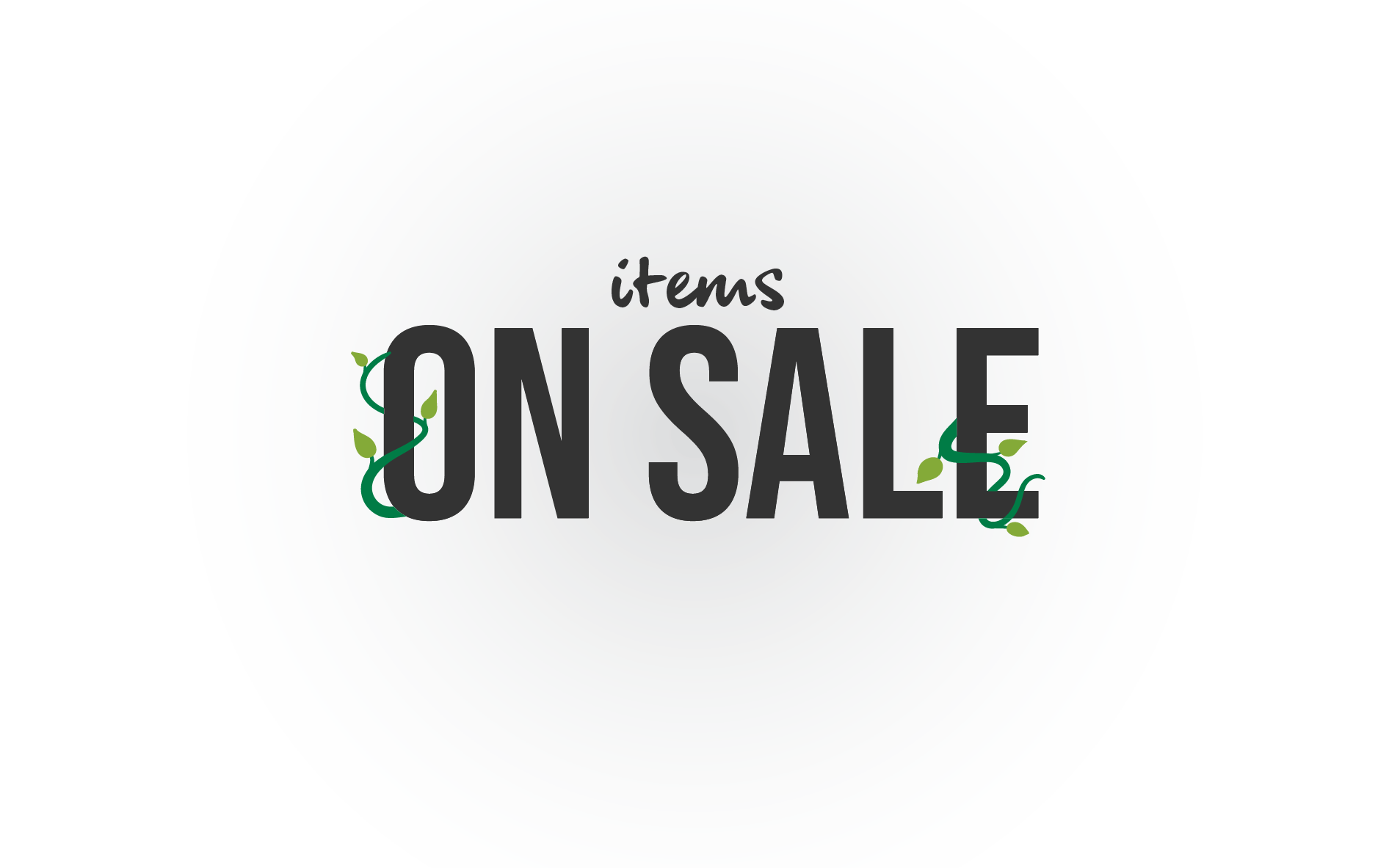 List for products on sale.