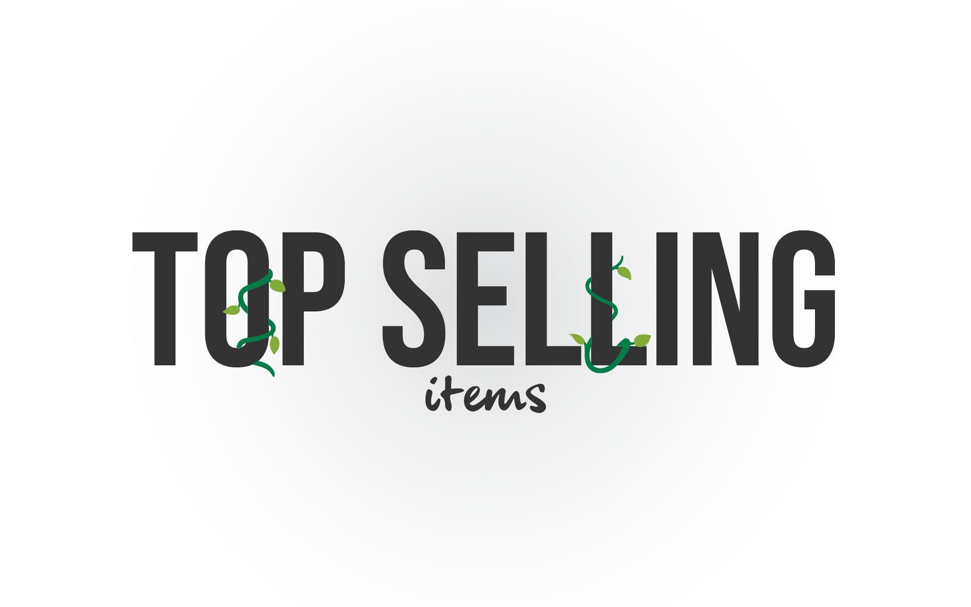 List for best selling products.